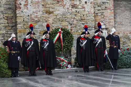 Celebrazione del Giorno della Memoria alla Risiera di San Sabba - Trieste 28/01/2018