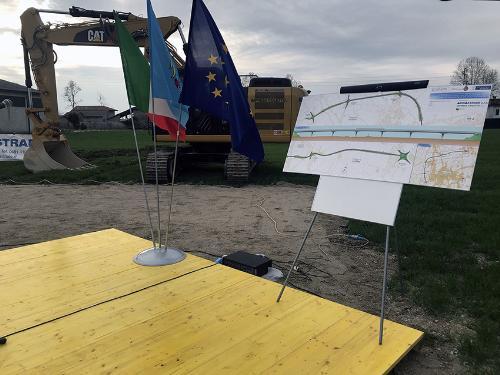 Avvenuta consegna del cantiere per la costruzione della circonvallazione - San Vito al Tagliamento 08/02/2018