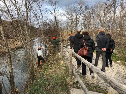 Sopralluogo di verifica degli interventi sul rio Ospo - Muggia 13/02/2018