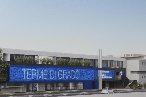 Lo stabilimento termale di Grado oggetto del nuovo progetto di riqualificazione