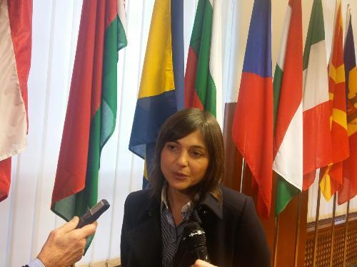 Debora Serracchiani (Presidente Friuli Venezia Giulia) - Trieste, 9 marzo 2018
