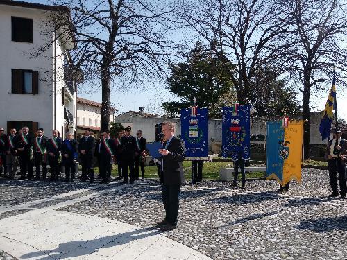 Festa della Patria del Friuli, raduno corteo in piazza a Arzene
