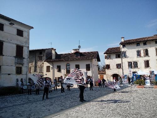 Festa della Patria del Friuli, piazza Castello a Valvasone