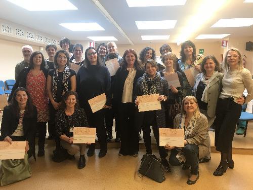 Il gruppo delle formatrici per sostenere l'allattamento al seno - Palmanova 11/04/2018