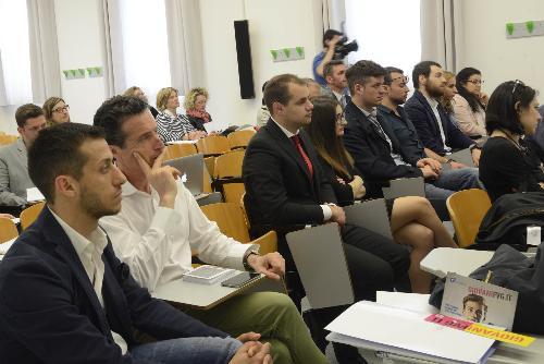 Partecipanti alla Conferenza regionale dei giovani del Friuli Venezia Giulia - Udine 21/04/2018
