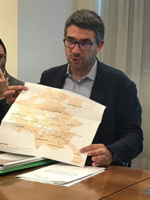 L'assessore alle Autonomie locali del Friuli Venezia Giulia, Pierpaolo Roberti