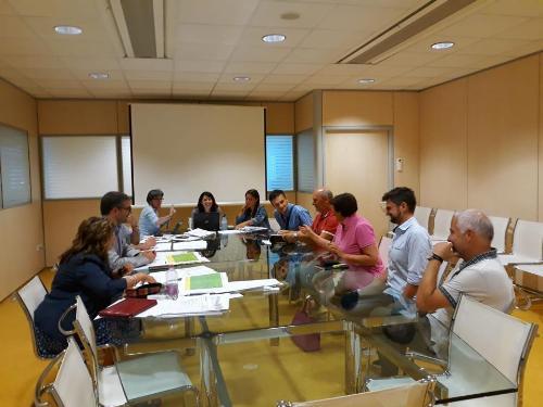Pierpaolo Roberti (Assessore regionale Autonomie locali, Sicurezza e Politiche comunitarie) all'incontro con i sindaci dei Comuni non aderenti alle Uti - Trieste 19/07/2018