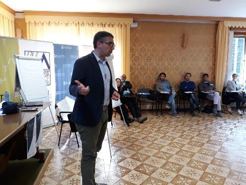 L'intervento dell'ass. Roberti alla Summer School di Zovello di Ravascletto, rivolta a giovani amministratori locali