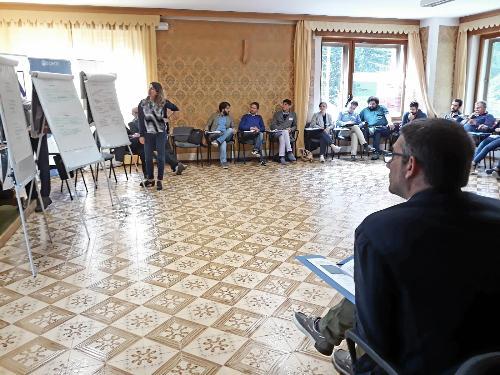 Roberti alla Summer School di Zovello di Ravascletto per giovani amministratori locali