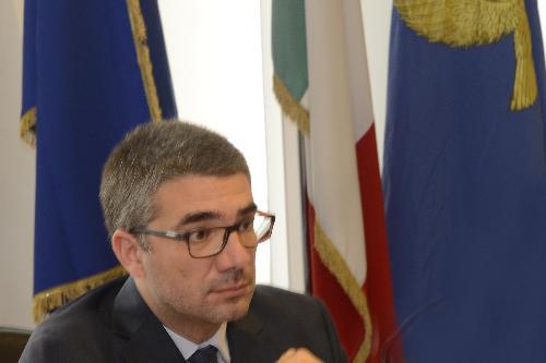 Pierpaolo Roberti (Assessore regionale Autonomie locali, Sicurezza e Politiche comunitarie) in una foto d'archivio