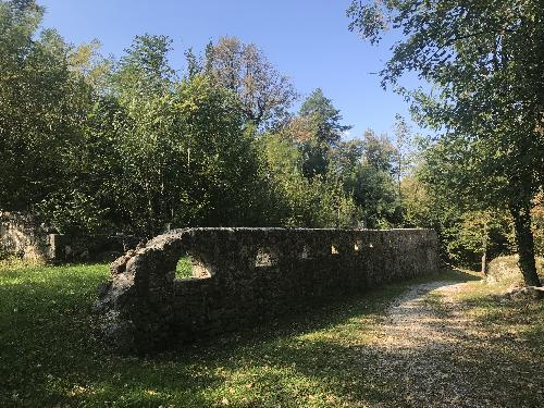 L'accesso viario alla parte alta del Forte di Osoppo - Osoppo, 10 ottobre