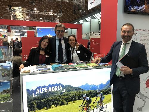 L'assessore regionale al Turismo, Sergio Emidio Bini con il direttore generale di PromoturismoFvg, Lucio Gomiero