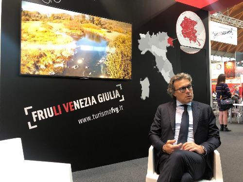 L'assessore regionale al Turismo, Sergio Emidio Bini