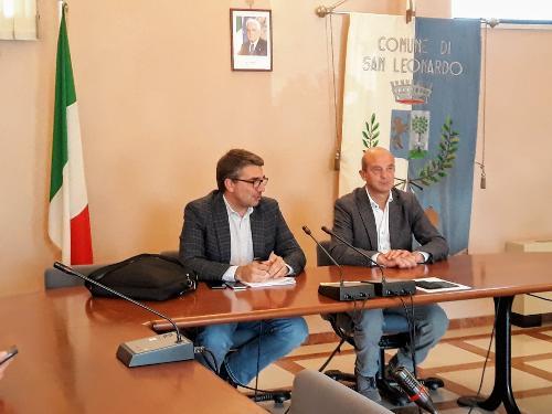 L'assessore regionale alle Autonomie locali, Pierpaolo Roberti, incontra i sindaci delle Valli del Natisone - San Leonardo, 24 ottobre
