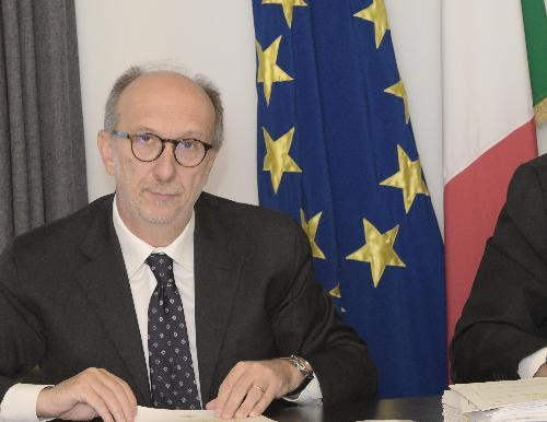 Il vicegovernatore Riccardi