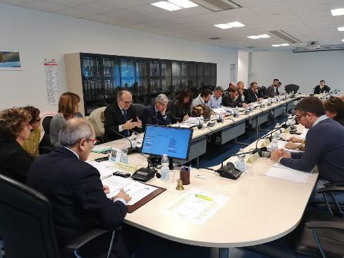 L'assessore Pierpaolo Roberti e il vicegovernatore Riccardo Riccardi al Consiglio delle autonomie locali