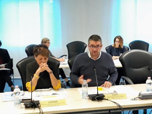L'assessore Roberti alla riunione del Consiglio delle autonomie locali