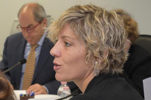 L'assessore FVG alle Finanze, Barbara Zilli