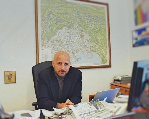Il nuovo direttore di Agenzia Regione Cronache (Arc), Demetrio Damiani