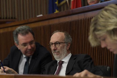 Il vicegovernatore con delega alla Protezione civile Riccardo Riccardi