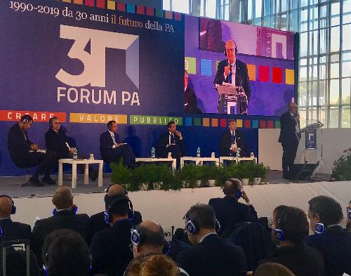 L'intervento dell'assessore regionale alla Funzione pubblica al ForumPA 2019.