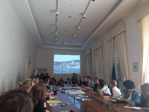 La presentazione del progetto del Geoparco transfrontaliero del Carso
