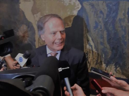 Il ministro degli Affari esteri, Enzo Moavero Milanesi