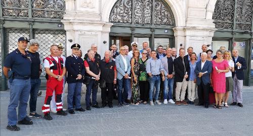 Consegnati in Municipio a Trieste riconoscimenti per l'apporto conferito al successo di Mare Nordest 2019