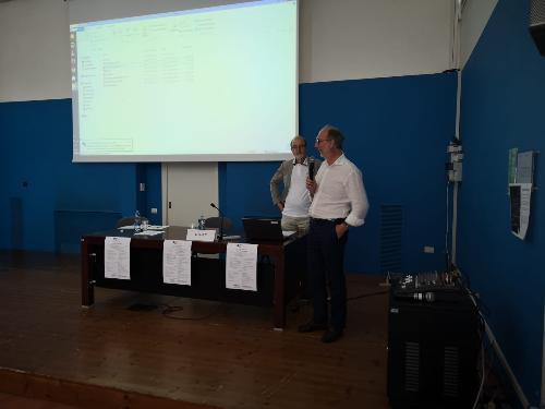 L'intrvento del vicegovernatore Ricardo Riccardi in occasione del convegno svoltosi a San Giorgio si Nogaro
