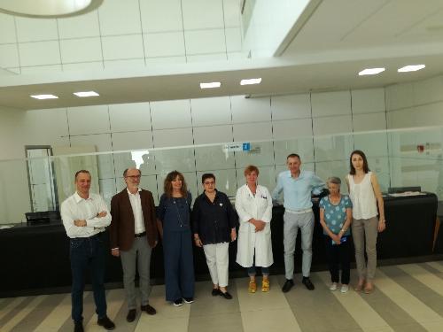 Riccardi ad attivazione sportello Pazienti per i pazienti all'Ospedale di Udine