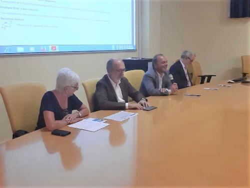 Il vicegovernatore Riccardi all'incontro sulle eccellenze della sanità goriziana