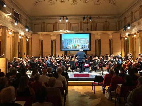 La presentazione della stagione 2019-2020 del Teatro Verdi di Trieste.