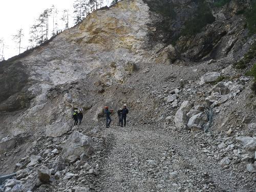 Sopralluogo del Vvcegovernatore Riccardi in Val Dogna