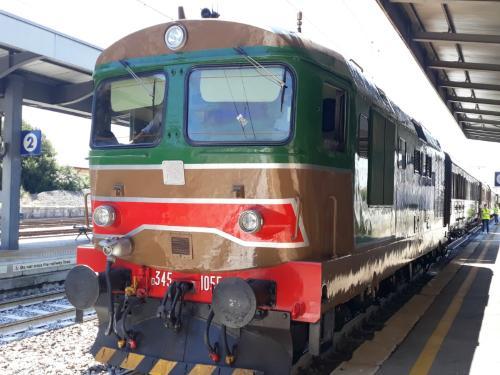 """Il treno storico """"tra laguna e mare"""" - San Giorgio di Nogaro, 15 luglio 2019"""