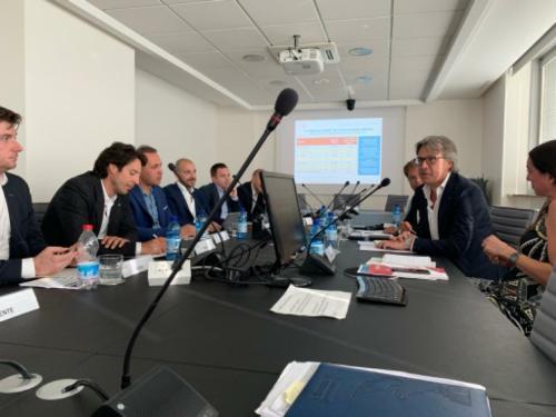 L'assessore regionale alle Attività produttive Sergio Emidio Bini al Comitato imprenditoria giovanile della Camera di Commercio di Pordenone e Udine