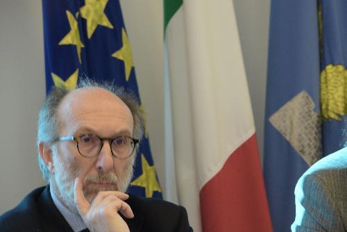 Il vicegovernatore con delega alla Salute del Fvg, Riccardo Riccardi