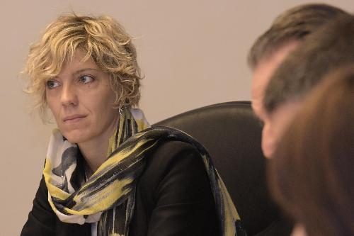 Barbara Zilli, assessore regionale alle Finanze e Patrimonio
