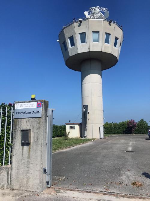 L'impianto del centro funzionale decentrato di Fossalon