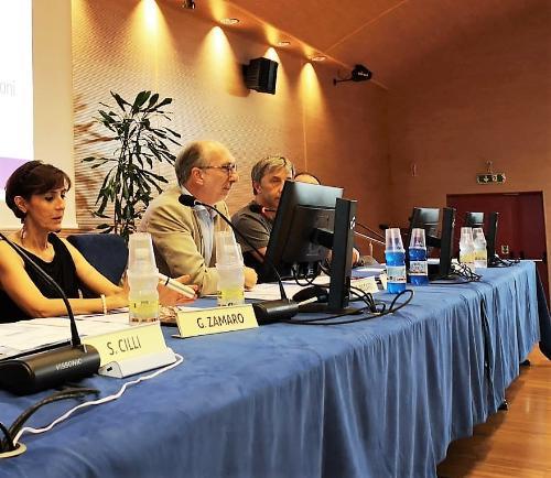 Il vicegovernatore del Fvg con delega alla Salute, Riccardo Riccardi, all'incontro informativo sull'avviso pubblico per il finanziamento di contributi destinati alle organizzazioni di volontariato (Odv) e associazioni di promozione sociale(Aps).