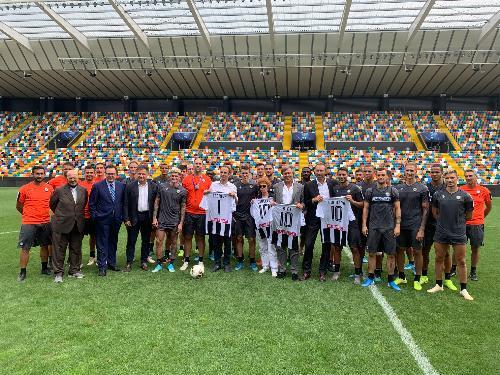 Fedriga, Bini e Gibelli con l'Udinese Calcio