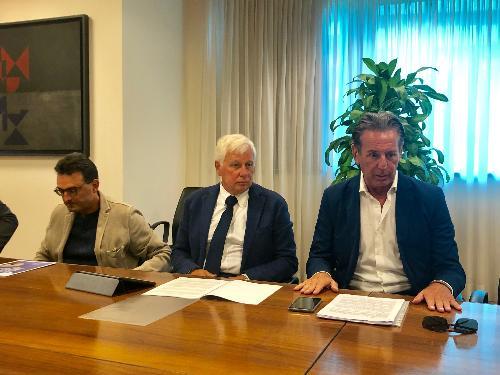L'assessore Scoccimarro a Udine alla presentazione della rapporto 2018 ARPA FVG sulla qualità dell'aria nel Friuli Venezia Giulia