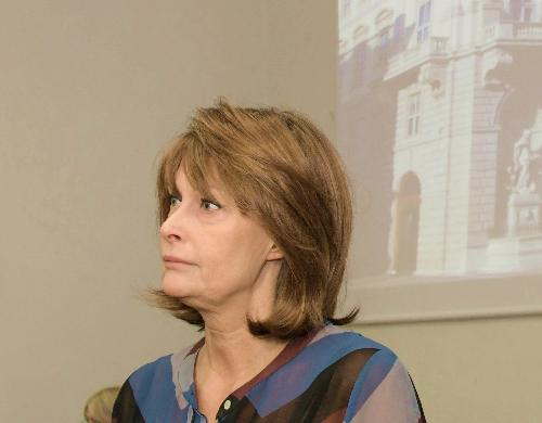 L'assessore alle Pari opportunità del Friuli Venezia Giulia, Alessia Rosolen