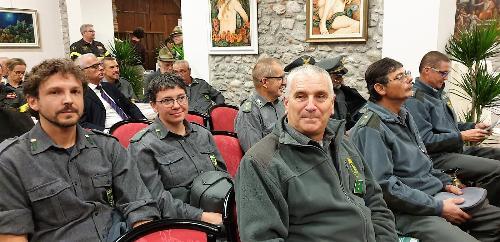 Il 50mo di fondazione del Corpo forestale regionale a Bottenicco di Moimacco