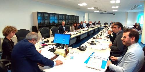 La seduta del Consiglio delle Autonomie locali (Cal) con la partecipazione dell'assessore regionale alle Autonomie locali, Pierpaolo Roberti - Udine, 28 ottobre 2019.