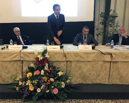 L'intervento del Governatore Massimiliano Fedriga in occasione della cerimonia di consegna delle onorificenze ai Maestri del lavoro di Pordenone