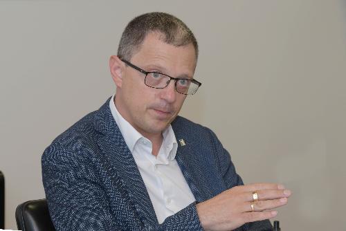 L'assessore regionale Stefano Zannier
