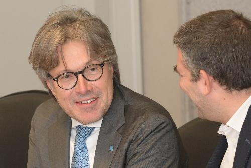 L'assessore regionale alle Attività produttive, Sergio Emidio Bini