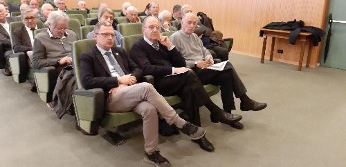L'assessore regionale Stefano Zannier a Tolmezzo