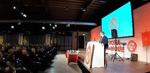 L'assessore regionale Pierpaolo Roberti alla 56ma giornata del donatore dell'ADS di Trieste