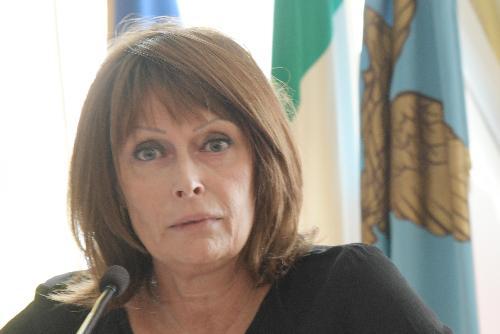 L'assessore all'Istruzione del Friuli Venezia Giulia, Alessia Rosolen
